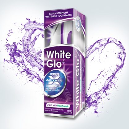 White Glo 2 – in – 1
