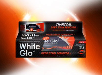 White Glo Charcoal Deep Stain Remover