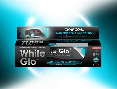 White Glo Charcoal: Bad Breath Eliminator